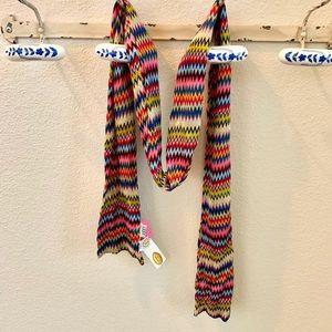 NWT Talbots multicolor scarf